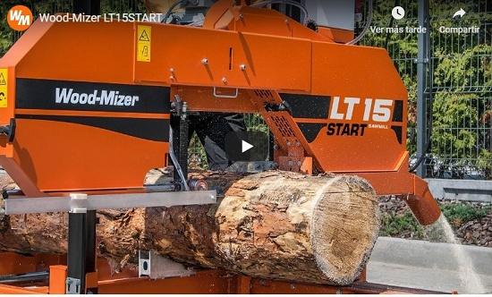 Foto de Aserradero económico para corte de troncos de madera