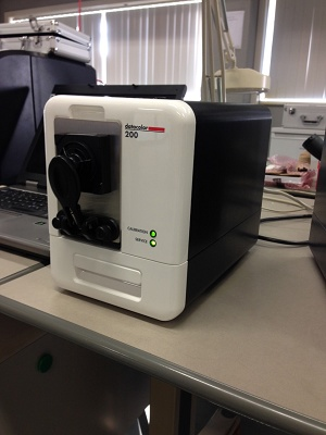 Foto de Espectrofotómetro de reflectancia para medicón de color