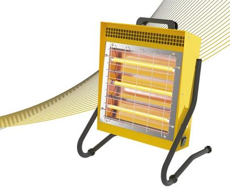 Foto de Calefactores de infrarrojos portátiles de 1,5 kW