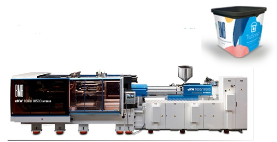 Foto de Inyectoras para la producción de contenedores