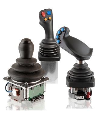 Foto de Joysticks para control y mando de sistemas