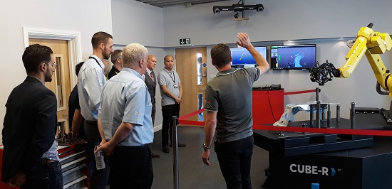 Foto de Máquina de medición por coordenadas de escaneado 3D automatizado