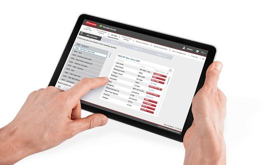 Foto de Software para documentación, monitorización y análisis de datos en procesos de soldadura