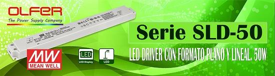 Foto de LED driver con formato plano y lineal
