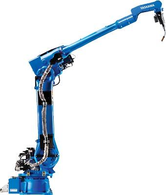 Foto de Robots de soldadura con alcance extralargo