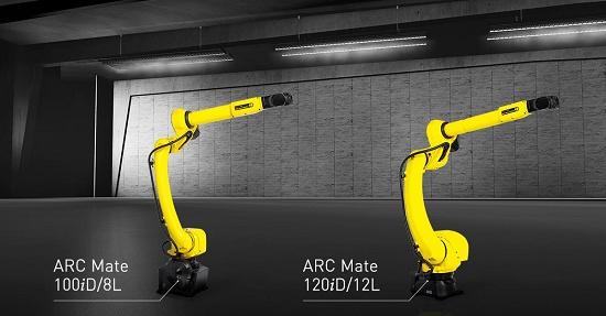 Foto de Robots de soldadura por arco de brazo largo