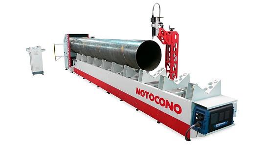 Foto de Máquina para corte de tubos de gran tamaño por plasma