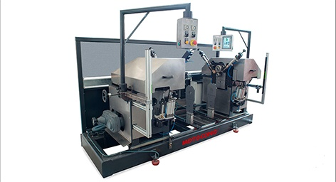 Foto de Máquina automática para el bordonado de tubos metálicos