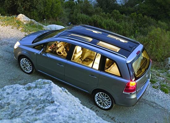 "Foto de ""Opel emplea una base del film de GE en el techo del Zafira 2005"""