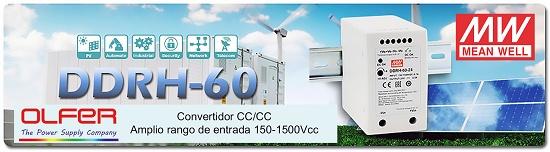Foto de Convertidor CC/CC para carril DIN