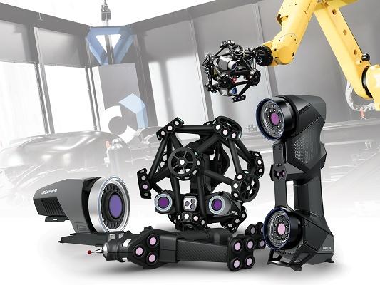 Foto de Escáneres 3D manuales y guiados por robots