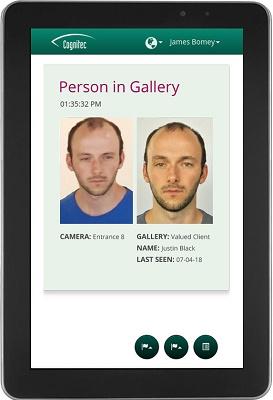 Foto de Lector de reconocimiento facial