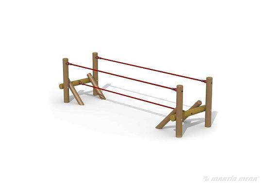 Foto de Juego infantil de equilibrio