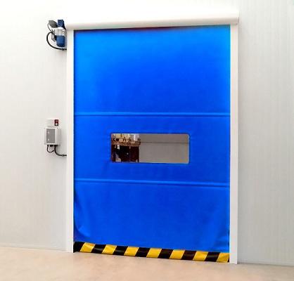 Foto de Puertas rápidas de aluminio