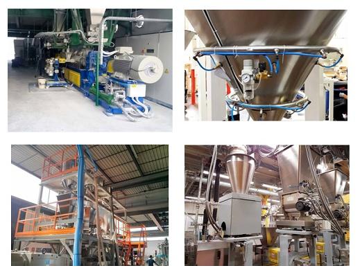 Foto de Instalaciones de dosificación y mezcla de plásticos