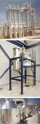 Foto de Sistema de evaporación, cristalización. ZLD
