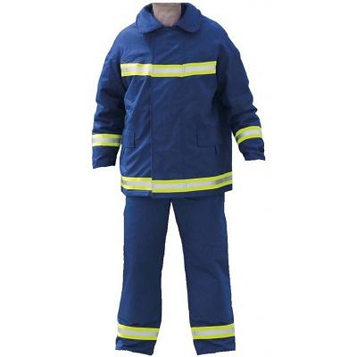 Foto de Chaquetón y cubrepantalón de bombero