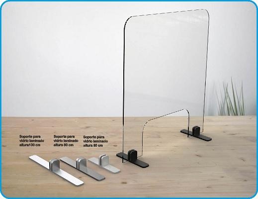 Foto de Mamparas de sobre mesa