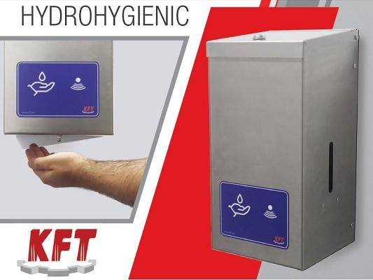 Foto de Dosificador automático de solución hidroalcohólica