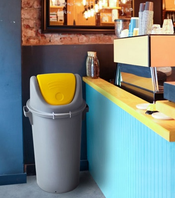 Foto de Contenedor de reciclaje