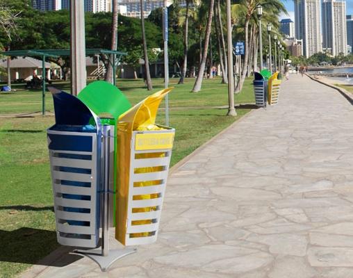 Foto de Papeleras de reciclaje urbanas