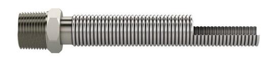 Foto de Conexiones flexibles corrugadas