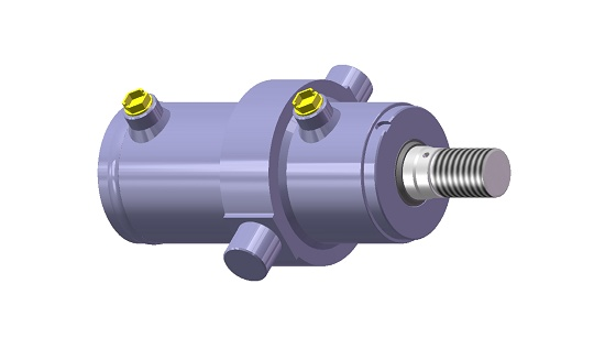 Foto de Cilindro hidráulico Semi-estándar
