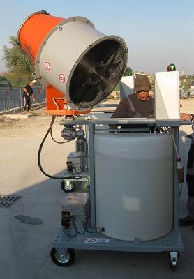 Foto de Cañones de pulverización
