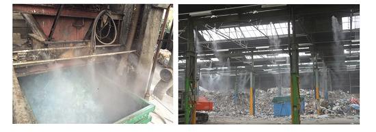 Foto de Sistemas de nebulización de alta presión
