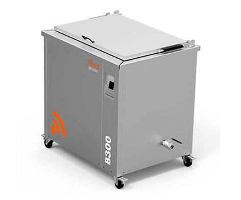Foto de Sistema de limpieza por ultrasonidos