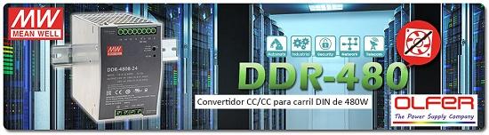 Foto de Convertidor CC/CC para carril DIN sin ventilador