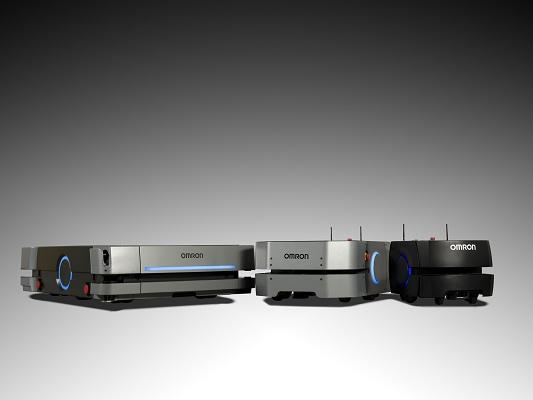 Foto de Robot móvil para el transporte autónomo de materiales