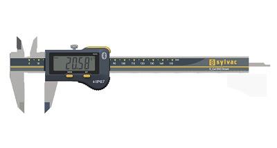 Foto de Calibre pie de rey digital con bluetooth integrado