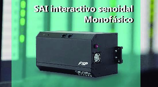 Foto de SAI interactivo senoidal monofásico