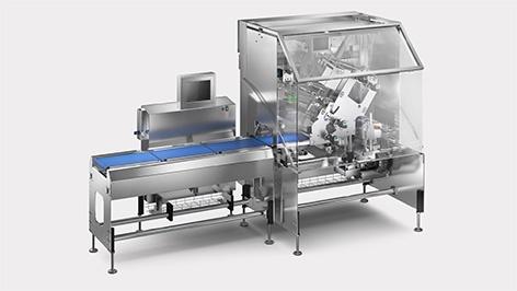 Foto de Etiquetadora industrial automática