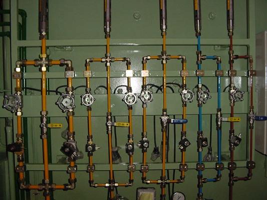 Foto de Paneles de gases