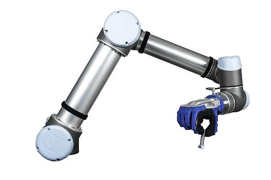Foto de Manos robóticas humanoides para robots colaborativos