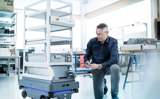 Foto de Soluciones inteligentes para robots MiR