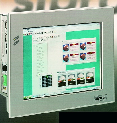 Foto de PCs industriales con TFT