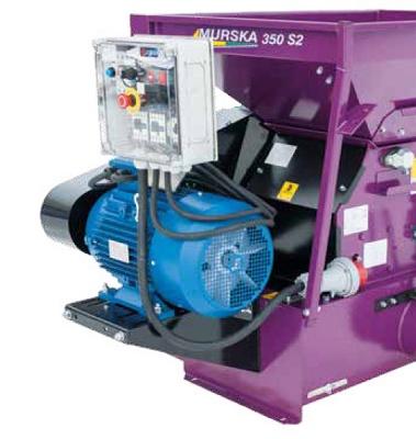 Foto de Prensadora con motor eléctrico de 15 kW