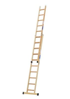 Foto de Escalera de madera extensible de 2 tramos
