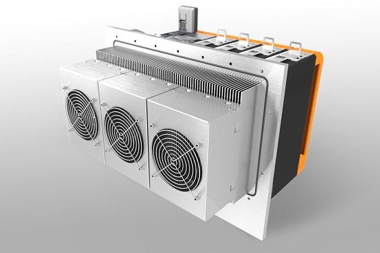 Foto de Refrigeración modular para servoaccionamiento