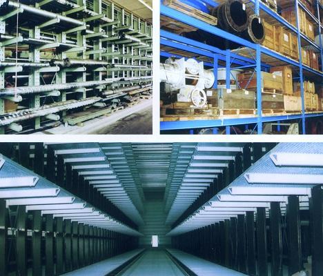 Foto de Estanterías industriales para metal