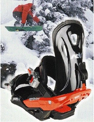 """Foto de """"Una avanzada fijación de snowboard"""""""