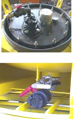 Foto de Contenedor cisterna a presión (IC) de 1100 litros, con revestimiento ebonita