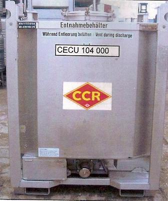 Foto de Contenedor cilíndrico, con calefacción eléctrica y aislamiento térmico