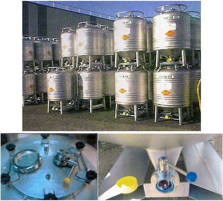 Foto de Alquiler de contenedores cilíndricos