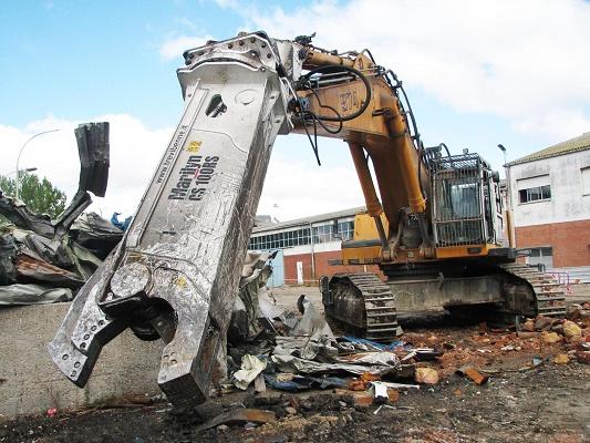 Foto de Cizalla de demolición