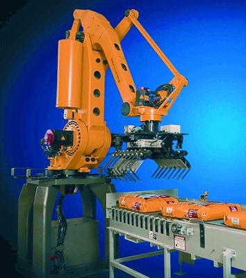 Foto de Robot de paletización y empaquetado