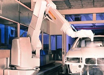 System of robot for painting P-200E - Robotics and automation